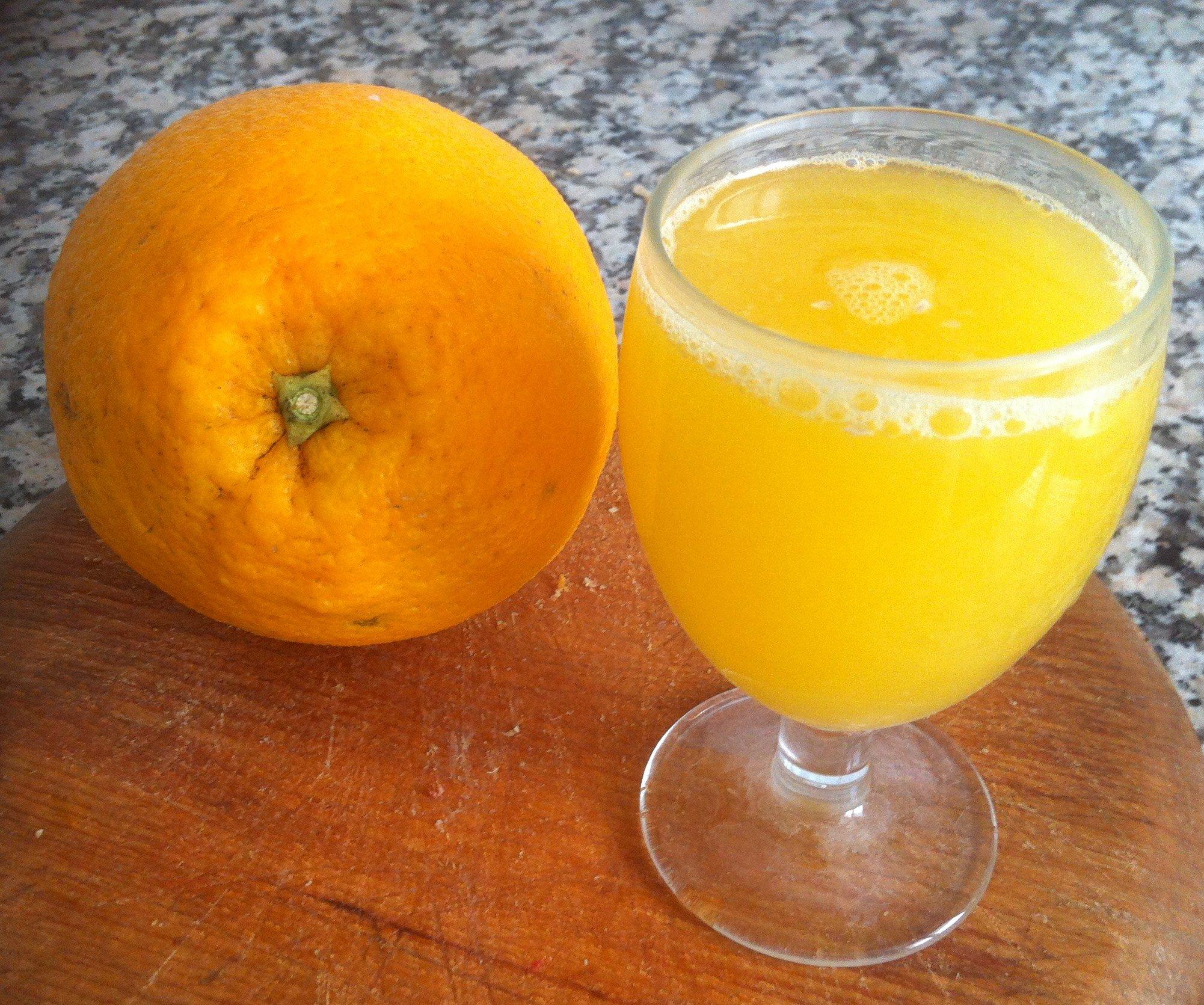 Presentación de las primeras naranjas